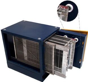 Electrostatic Precipitators For Kitchen Exhausts